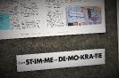 """""""deine STIMME zur DEMOKRATIE""""  Kunstaktion zur Kampagne_24"""