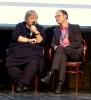 Fachtag 2012 - von links nach rechts: Dr. Dorothea Kolland (Leiterin Kulturam Berlin-Neukölln); Tobias J. Knoblich (Kulturdirektor der Stadt Erfurt)
