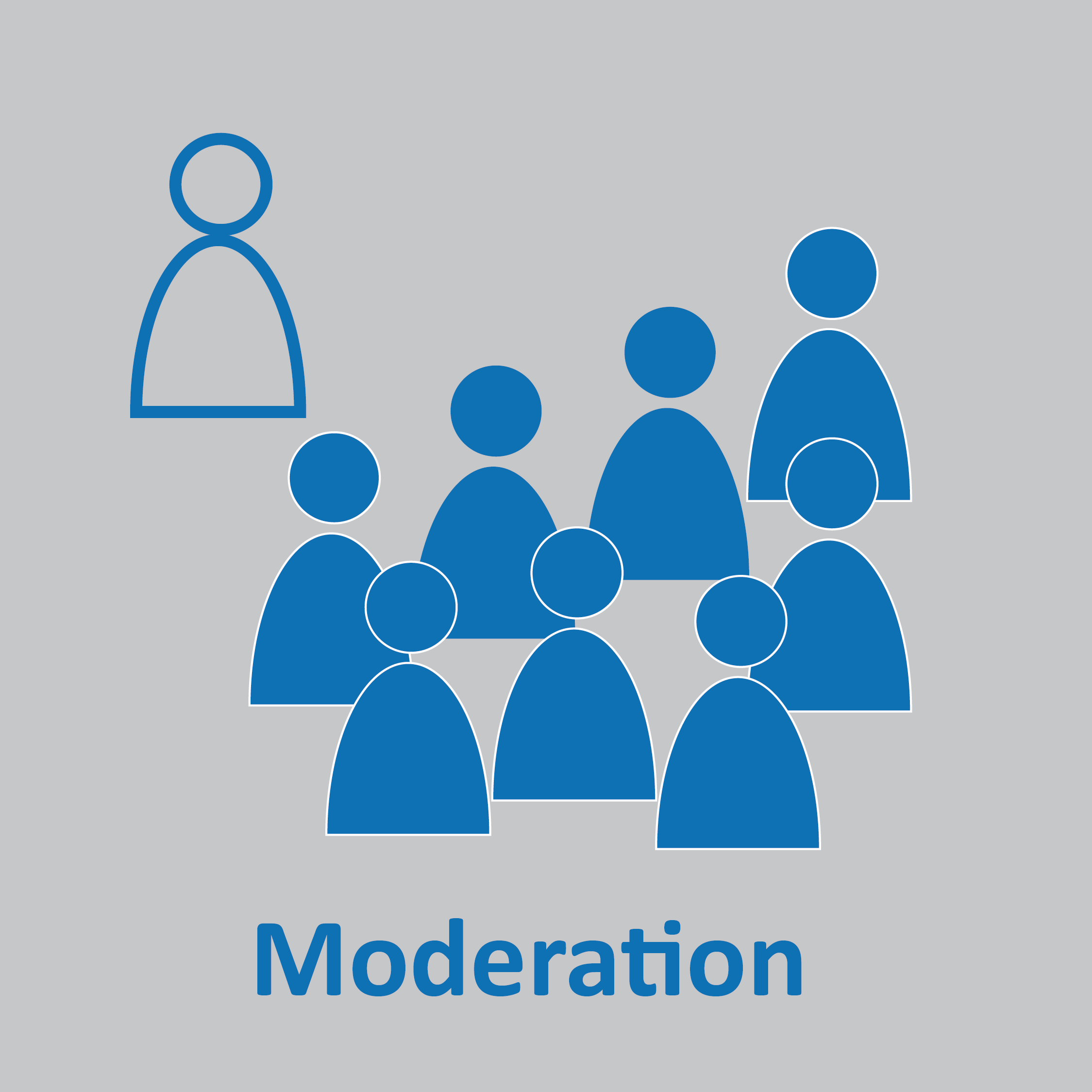 moderation (Grafik: Kathrin Weigel - kawe.media)